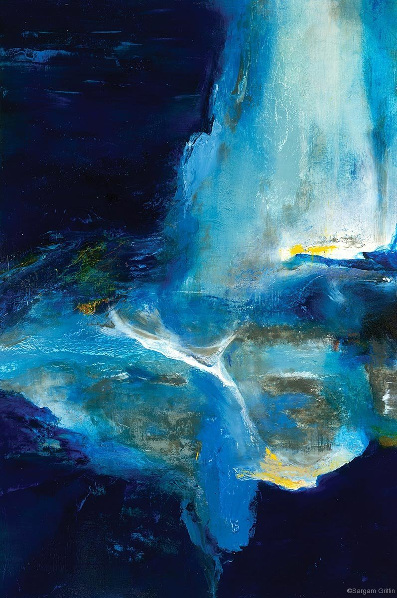 Blu Again, Sargam Griffin, Contemporary Art