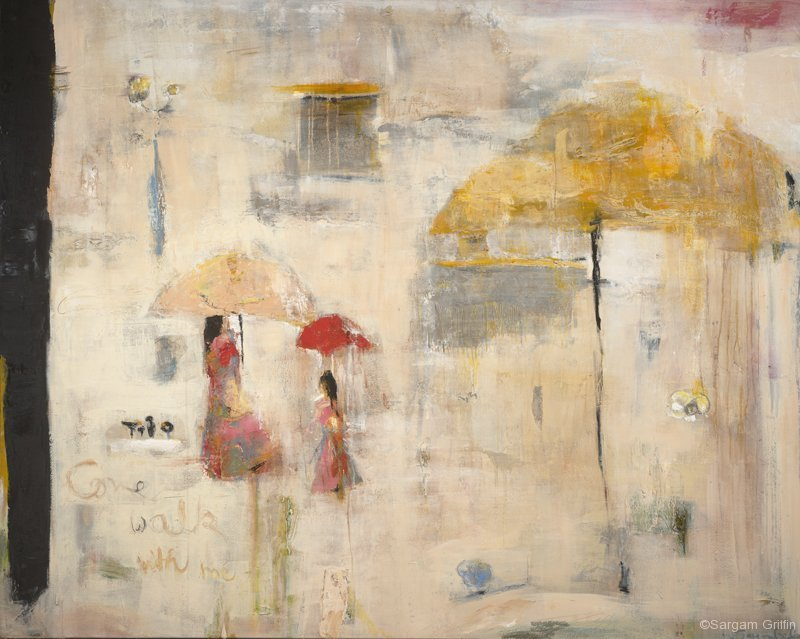 Come Walk With Me, Sargam Griffin Contemporary Art