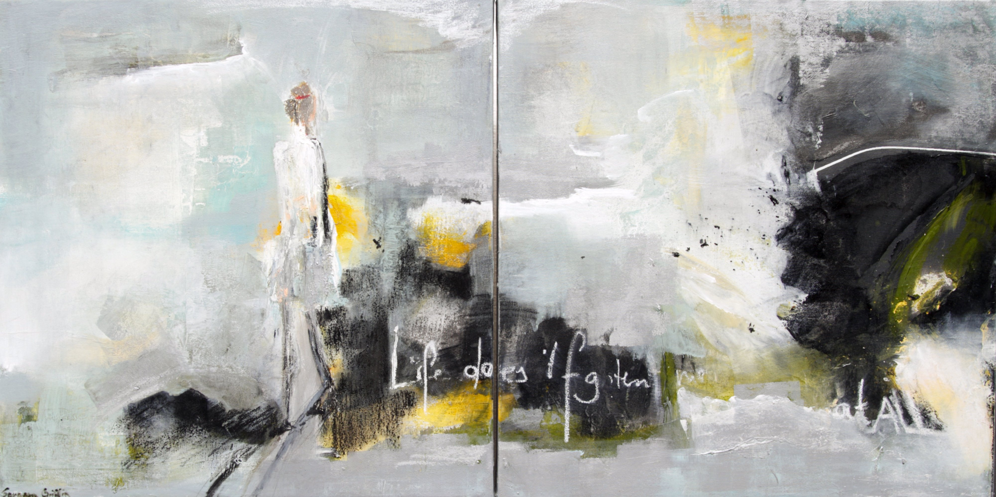 life doesn't frighten me at all, Sargam Griffin , Contemporary Art
