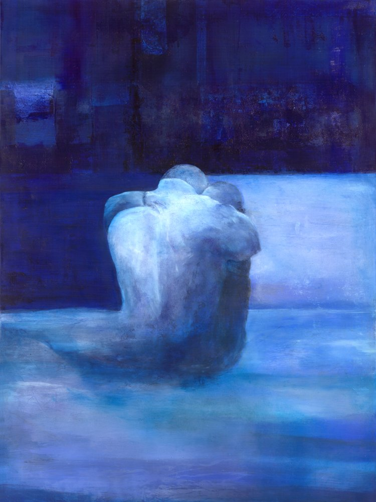 The Embrace, Contemporary Art Print, Sargam Griffin