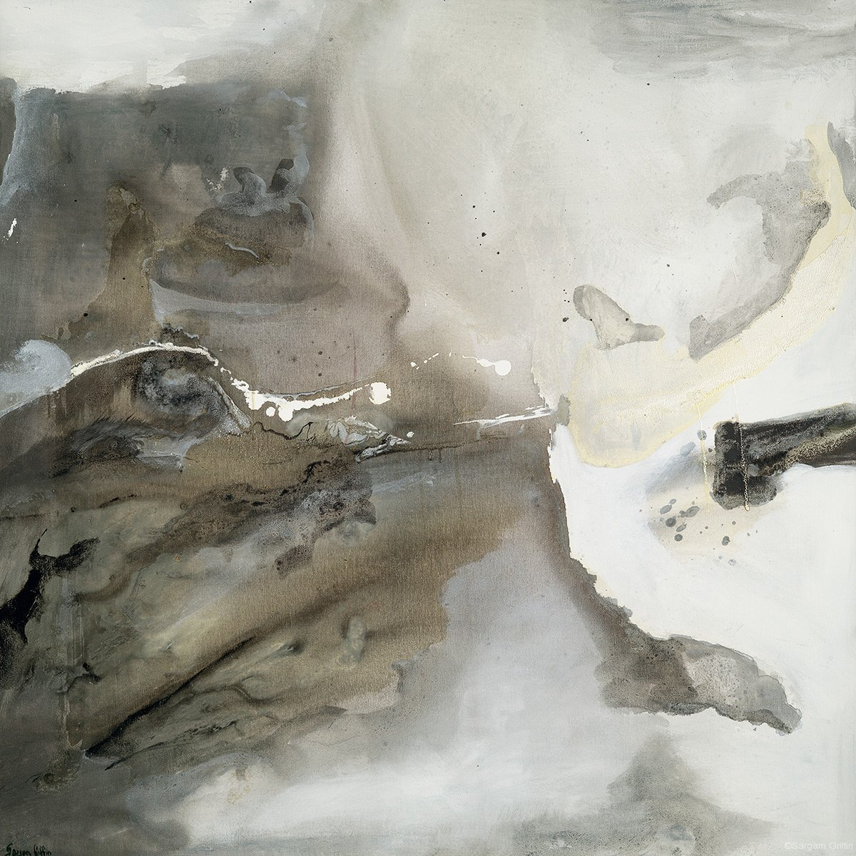 Silver Gray II, Sargam Griffin, Contemporary Art