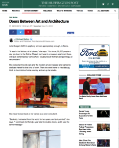 Doors Between Art and Architecture, Huffington Post