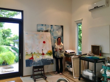 sargam griffin, contemporary artist, art shed